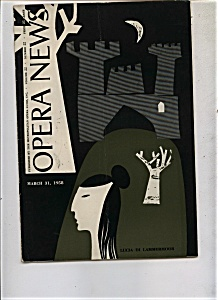 Opera News - March 31, 1958 (Image1)