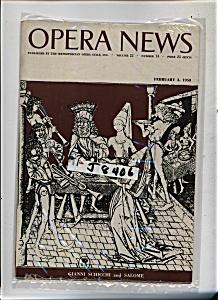 Opera News - February 3, 1958 (Image1)