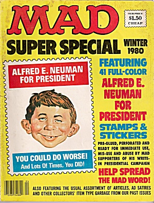 MAD SUPER SPECIAL -  Winter 1980 (Image1)