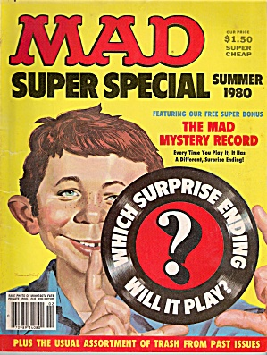 MAD SUPER SPECIAL - SUMMER 1980 (Image1)