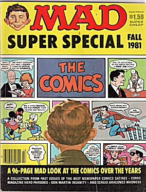 MAD SUPER SPECIAL - FALL 1981 (Image1)