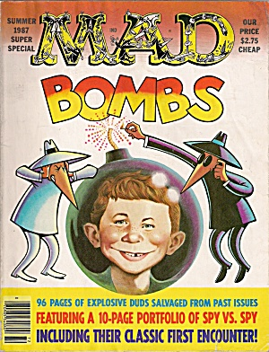 MAD MAGAZINE - BOMBS - SUMMER 1987 (Image1)