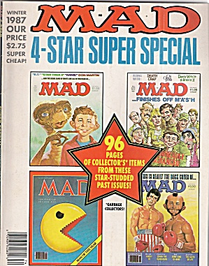 Mad Magazine - 4 Star Super Special - Winter 1987
