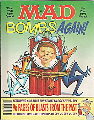 Mad Magazine - Bombs Again - Winter 1988