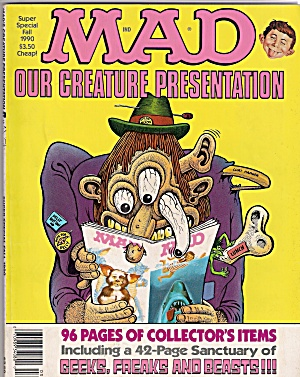 MAD MAGAZINE - Our creature presentation -  Fall 1990 (Image1)