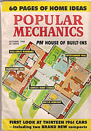Popular Mechanics -  October 1960 (Image1)