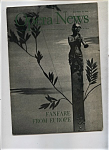 Opera News - October 19, 1953 (Image1)