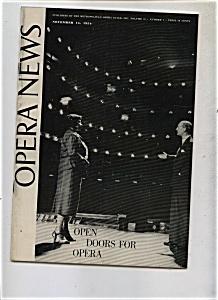 Opera News - November 15, 1954 (Image1)