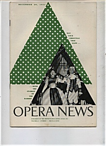 Opera News -  December 20, 1954 (Image1)
