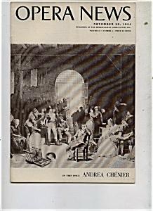 Opera News - November 29, 1954 (Image1)