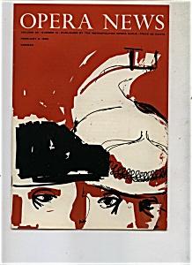 Opera News - February 6, 1960 (Image1)