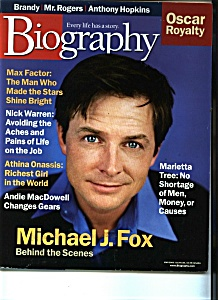 Biography - March 2000 (Image1)