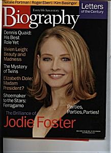 Biography - November 1999 (Image1)