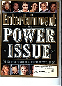 Entertainment - October 26, 2001