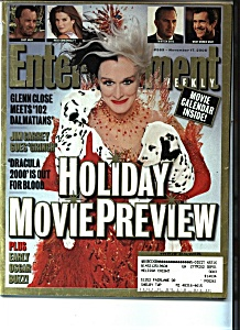 Entertainment -November 17, 2000 (Image1)