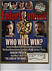 Entertainment - March 22, 2002