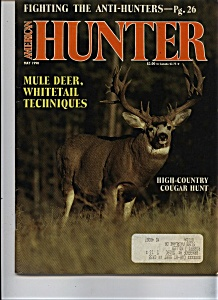 American Hunter - May 1990 (Image1)