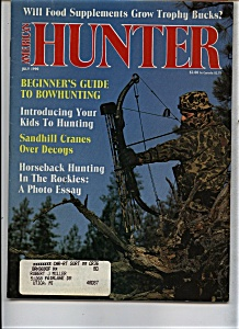 American Hunter - July 1990 (Image1)