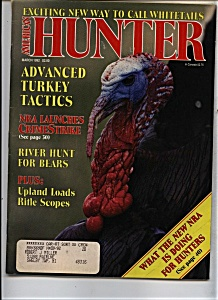 American Hunter - March 1992 (Image1)