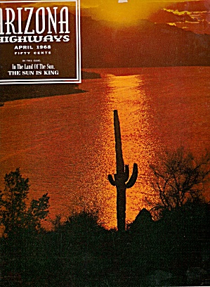 Arizona Highways -  April 1968 (Image1)