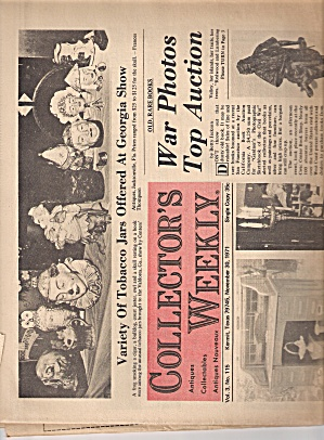 collector's weekly -   November 30, 1971 (Image1)