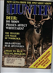 American Hunter - April 1992 (Image1)