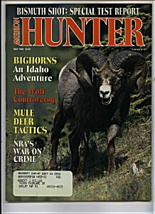 American Hunter - May 1993 (Image1)
