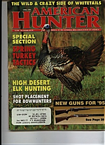 American Hunter - April 1995 (Image1)