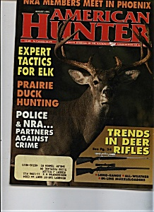 American Hunter - August 1995 (Image1)