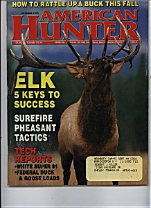 American Hunter - October 1995 (Image1)