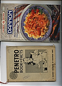 Dannon Cookbook  & Penetro book of facts (Image1)