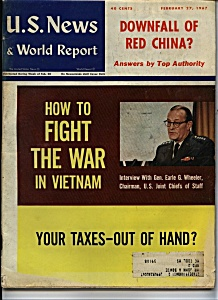 U.S. News & World report - February 27, 1967 (Image1)