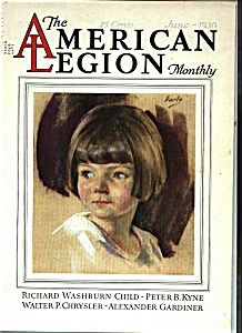 The American Legion Monthly - June 1930