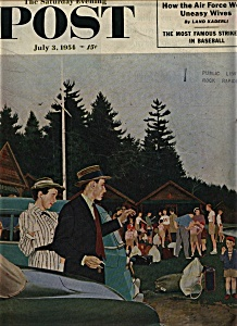 The Saturday Evening Post - July 3, 1954 (Image1)