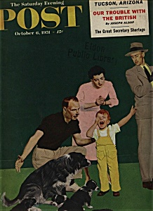 The Saturday Evening Post - October 6, 1951 (Image1)