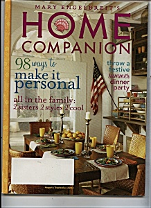 Home Companion - August/september 2003