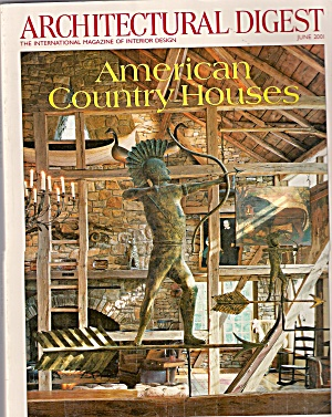 Architectural  Digest -   June 2001 (Image1)