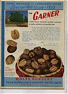 Wolfe Nursery Catalog - Texas 1953 (Image1)