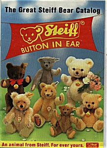 Steiff Bear Catalog Germany Teddy Bears Catalogs At