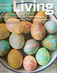 Martha Stewart LIVING  magazine -  April 2003 (Image1)