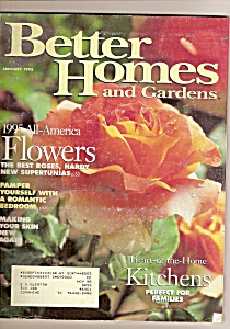 Better Homes and Gardens - January 1995 (Image1)