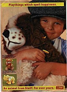 Steiff Animal catalog  - Germany (Image1)