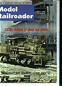 Model Railroader - April 1962 (Image1)
