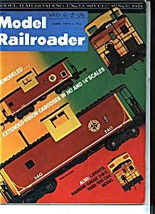 Model Railroader - June 1974 (Image1)
