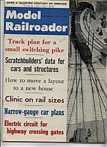 Model Railroader -  November 1962 (Image1)