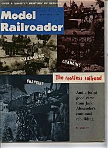 Model Railroader - June 1963 (Image1)
