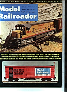 Model Railroader - April 1974 (Image1)