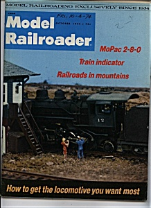 Model Railroader - October 1974 (Image1)
