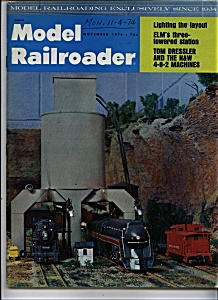 Model Railroader  Magazine - November 1974 (Image1)
