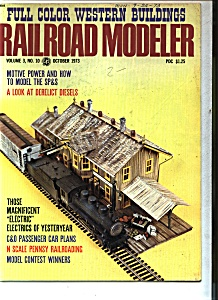Railroad Modeler Magazine - October 1973 (Image1)